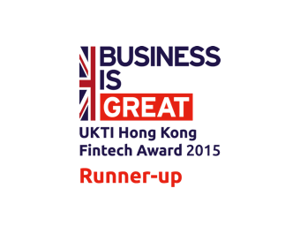 UKTI HONG KONG FINTECH AWARD 2015 | RUNNER-UP